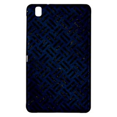 Woven2 Black Marble & Blue Grunge (r) Samsung Galaxy Tab Pro 8 4 Hardshell Case by trendistuff