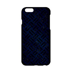 Woven2 Black Marble & Blue Grunge (r) Apple Iphone 6/6s Hardshell Case by trendistuff