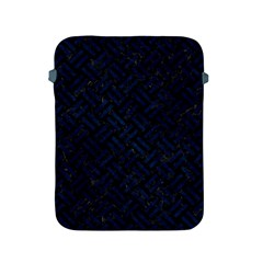 Woven2 Black Marble & Blue Grunge Apple Ipad 2/3/4 Protective Soft Case by trendistuff