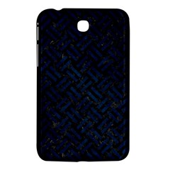 Woven2 Black Marble & Blue Grunge Samsung Galaxy Tab 3 (7 ) P3200 Hardshell Case  by trendistuff