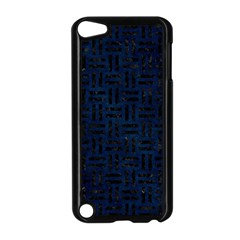 Woven1 Black Marble & Blue Grunge (r) Apple Ipod Touch 5 Case (black) by trendistuff