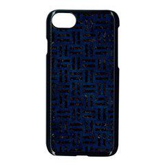 Woven1 Black Marble & Blue Grunge (r) Apple Iphone 7 Seamless Case (black) by trendistuff