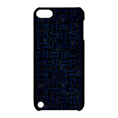 Woven1 Black Marble & Blue Grunge Apple Ipod Touch 5 Hardshell Case With Stand by trendistuff