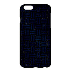 Woven1 Black Marble & Blue Grunge Apple Iphone 6 Plus/6s Plus Hardshell Case by trendistuff