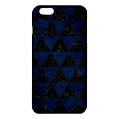 Triangle3 Black Marble & Blue Grunge Iphone 6 Plus/6s Plus Tpu Case by trendistuff