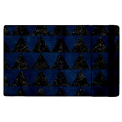 Triangle2 Black Marble & Blue Grunge Apple Ipad Pro 12 9   Flip Case by trendistuff
