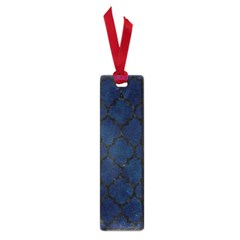 Tile1 Black Marble & Blue Grunge (r) Small Book Mark by trendistuff