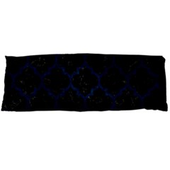 Tile1 Black Marble & Blue Grunge Body Pillow Case (dakimakura) by trendistuff