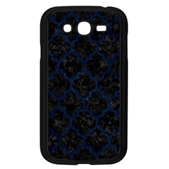 Tile1 Black Marble & Blue Grunge Samsung Galaxy Grand Duos I9082 Case (black) by trendistuff