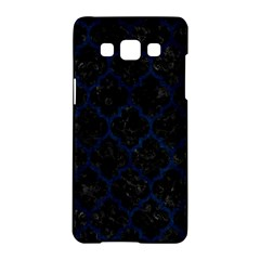 Tile1 Black Marble & Blue Grunge Samsung Galaxy A5 Hardshell Case  by trendistuff