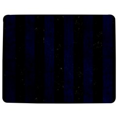 Stripes1 Black Marble & Blue Grunge Jigsaw Puzzle Photo Stand (rectangular) by trendistuff