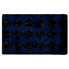 Square2 Black Marble & Blue Grunge Apple Ipad Pro 9 7   Flip Case