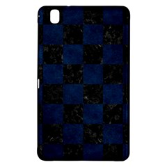 Square1 Black Marble & Blue Grunge Samsung Galaxy Tab Pro 8 4 Hardshell Case by trendistuff