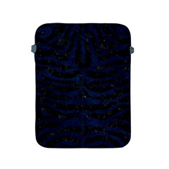 Skin2 Black Marble & Blue Grunge Apple Ipad 2/3/4 Protective Soft Case by trendistuff