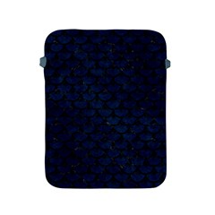Scales3 Black Marble & Blue Grunge (r) Apple Ipad 2/3/4 Protective Soft Case by trendistuff
