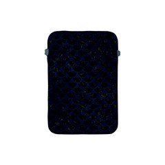Scales3 Black Marble & Blue Grunge Apple Ipad Mini Protective Soft Case by trendistuff