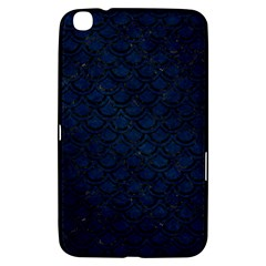 Scales2 Black Marble & Blue Grunge (r) Samsung Galaxy Tab 3 (8 ) T3100 Hardshell Case  by trendistuff