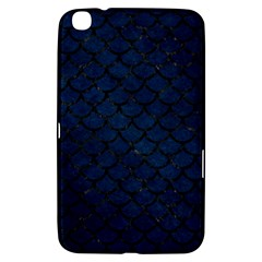 Scales1 Black Marble & Blue Grunge (r) Samsung Galaxy Tab 3 (8 ) T3100 Hardshell Case  by trendistuff