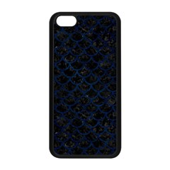 Scales1 Black Marble & Blue Grunge Apple Iphone 5c Seamless Case (black) by trendistuff