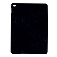Scales1 Black Marble & Blue Grunge Apple Ipad Air 2 Hardshell Case by trendistuff
