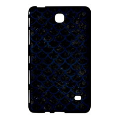 Scales1 Black Marble & Blue Grunge Samsung Galaxy Tab 4 (7 ) Hardshell Case  by trendistuff
