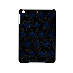 Royal1 Black Marble & Blue Grunge (r) Apple Ipad Mini 2 Hardshell Case by trendistuff