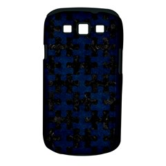 Puzzle1 Black Marble & Blue Grunge Samsung Galaxy S Iii Classic Hardshell Case (pc+silicone) by trendistuff