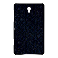 Hexagon1 Black Marble & Blue Grunge Samsung Galaxy Tab S (8 4 ) Hardshell Case  by trendistuff