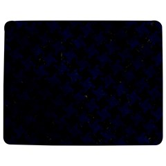 Houndstooth2 Black Marble & Blue Grunge Jigsaw Puzzle Photo Stand (rectangular) by trendistuff