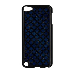 Circles3 Black Marble & Blue Grunge (r) Apple Ipod Touch 5 Case (black) by trendistuff
