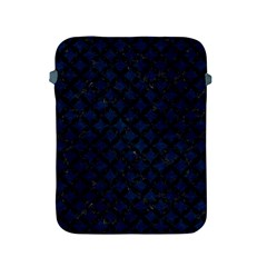 Circles3 Black Marble & Blue Grunge (r) Apple Ipad 2/3/4 Protective Soft Case by trendistuff