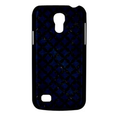 Circles3 Black Marble & Blue Grunge (r) Samsung Galaxy S4 Mini (gt I9190) Hardshell Case  by trendistuff