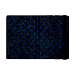 Circles3 Black Marble & Blue Grunge (r) Apple Ipad Mini 2 Flip Case by trendistuff