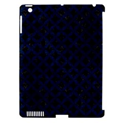 Circles3 Black Marble & Blue Grunge Apple Ipad 3/4 Hardshell Case (compatible With Smart Cover) by trendistuff
