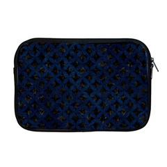 Circles3 Black Marble & Blue Grunge Apple Macbook Pro 17  Zipper Case by trendistuff