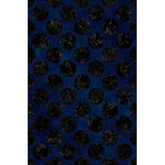Circles2 Black Marble & Blue Grunge (r) 5 5  X 8 5  Notebook by trendistuff