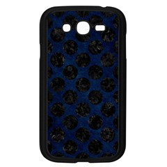 Circles2 Black Marble & Blue Grunge (r) Samsung Galaxy Grand Duos I9082 Case (black) by trendistuff