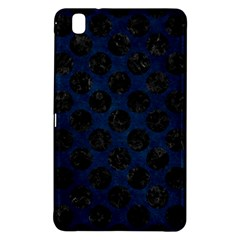 Circles2 Black Marble & Blue Grunge (r) Samsung Galaxy Tab Pro 8 4 Hardshell Case by trendistuff