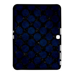 Circles2 Black Marble & Blue Grunge Samsung Galaxy Tab 4 (10 1 ) Hardshell Case  by trendistuff