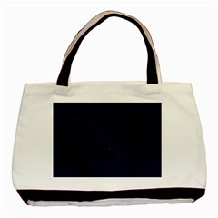 Brick1 Black Marble & Blue Grunge (r) Basic Tote Bag by trendistuff