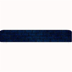Brick1 Black Marble & Blue Grunge (r) Small Bar Mat by trendistuff