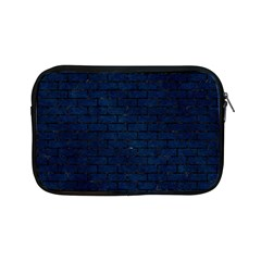 Brick1 Black Marble & Blue Grunge (r) Apple Ipad Mini Zipper Case by trendistuff