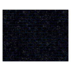 Brick1 Black Marble & Blue Grunge Jigsaw Puzzle (rectangular) by trendistuff