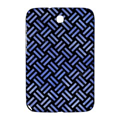 Woven2 Black Marble & Blue Watercolor Samsung Galaxy Note 8 0 N5100 Hardshell Case  by trendistuff