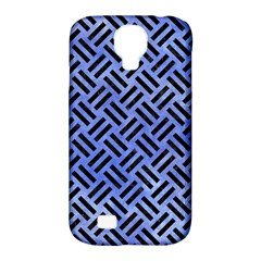 Woven2 Black Marble & Blue Watercolor (r) Samsung Galaxy S4 Classic Hardshell Case (pc+silicone) by trendistuff