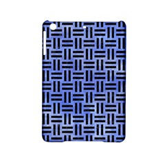 Woven1 Black Marble & Blue Watercolor (r) Apple Ipad Mini 2 Hardshell Case by trendistuff
