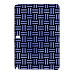 Woven1 Black Marble & Blue Watercolor Samsung Galaxy Tab Pro 10 1 Hardshell Case by trendistuff