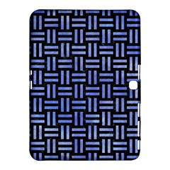 Woven1 Black Marble & Blue Watercolor Samsung Galaxy Tab 4 (10 1 ) Hardshell Case  by trendistuff