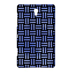 Woven1 Black Marble & Blue Watercolor Samsung Galaxy Tab S (8 4 ) Hardshell Case  by trendistuff
