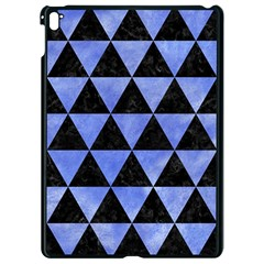 Triangle3 Black Marble & Blue Watercolor Apple Ipad Pro 9 7   Black Seamless Case by trendistuff